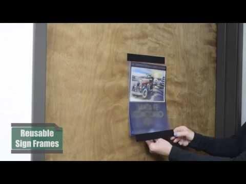 Reusable Sign Frames