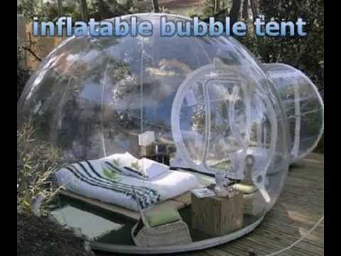 inflatable bubble tent & inflatable bubble tent - YouTube