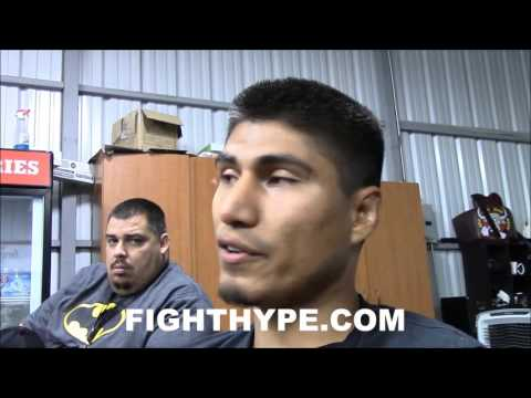 MIKEY GARCIA GIVES DETAILED BREAKDOWN OF AMATEUR CLASH WITH TERENCE CRAWFORD