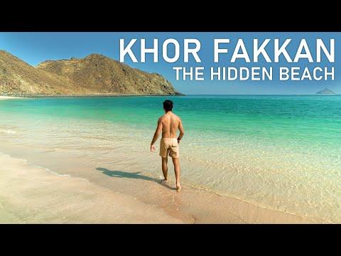 The Hidden Paradise of UAE  - Hidden Beach