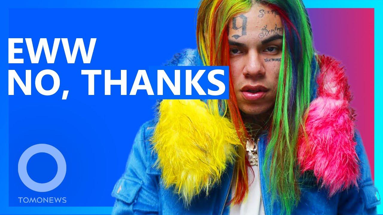 Rapper 6ix9ine Has $200k Kid's Charity Donation Rejected - YouTube