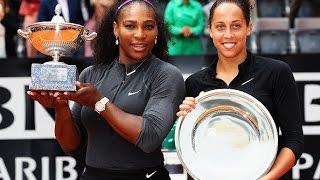 2016 Internazionali BNL dItalia Final WTA Highlights | Serena Williams vs Madison Keys