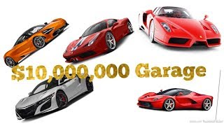 10 Million Dollar Car Collection