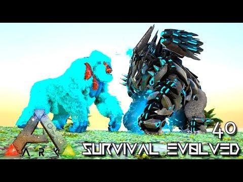 ARK: SURVIVAL EVOLVED: TEK MEGAPITHECUS BOKITO PRIMORDIAL E40 !!! ( ARK EXTINCTION CORE MODDED )