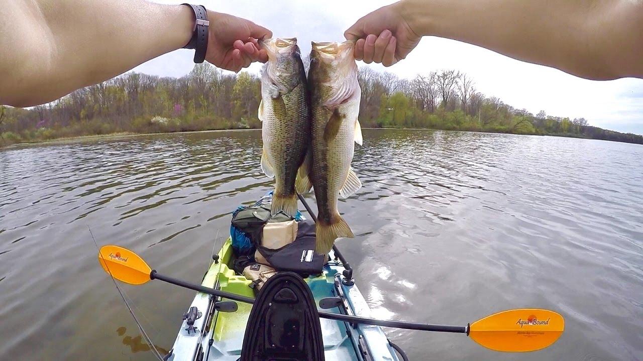 Awesome Ohio Fishing Over Bass Kiser Lake YouTube - Kiser lake map
