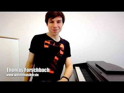 Michael Jackson - I'll Be There - Piano Tutorial (deutsch) K