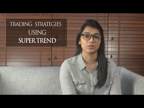 How To Use Super Trend Indicator For Intraday Trading Youtube