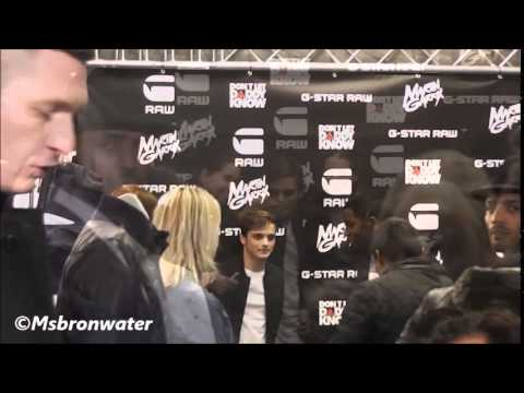 Martin Garrix @ G-Star Store Amsterdam Dont Let Daddy Know