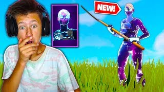 I GOT THE FEMALE GALAXY SKIN IN FORTNITE! SURPRISING MY LITTLE BROTHER WITH NEW GALAXY V2 SKIN!