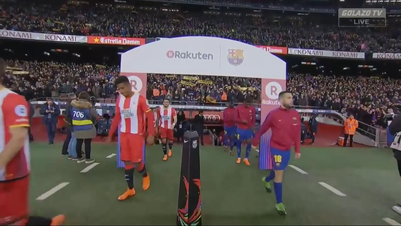 Barcelona vs Girona(6-1) full match highlights - YouTube