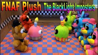 FNAF Plush - The BlackLight Imposters