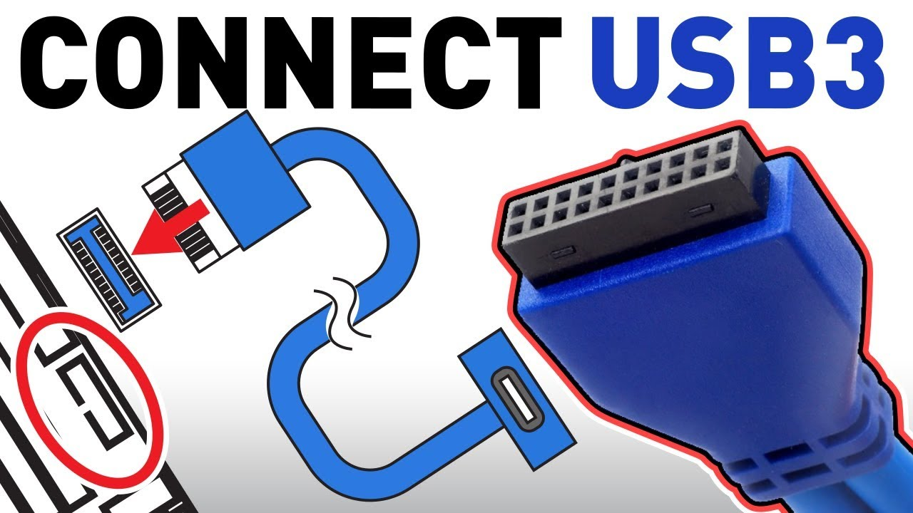 How To Connect The Usb 3 0 Front Panel To Your Motherboard