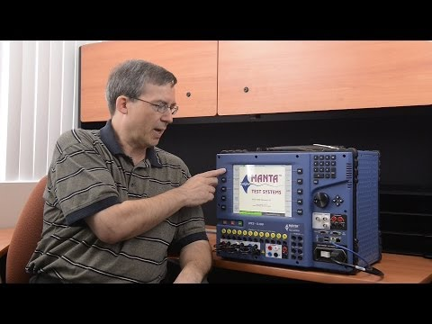 MTS-5000 / MTS-5100 Basics: Introduction to Manual Test