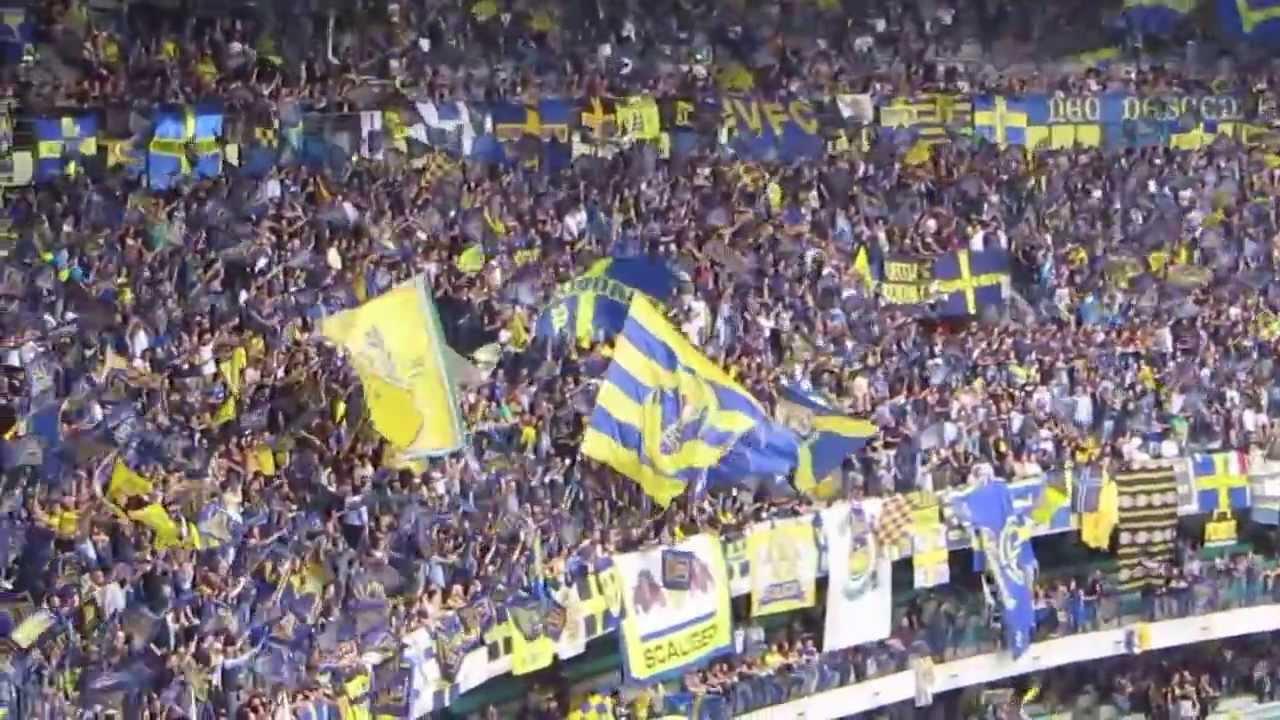 Hellas Verona - Empoli, 18/5/13. Strepitoso tifo curva sud ...