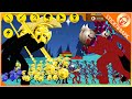 Stick War Legacy - MEGA GOLDEN GRIFFON vs RED GIANT BOSS skin Vamp Army Mod Gameplay ❤️ Stick789Apk