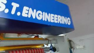 S.T.ENGINEERING - SOLVENTLESS LAMINATION MACHINE 300 MPM