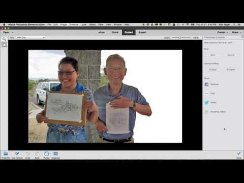 How to add multiple photos in photoshop elements