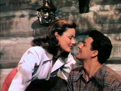 Cornel Wilde Gene Tierney Oscar Nominated Role 1945