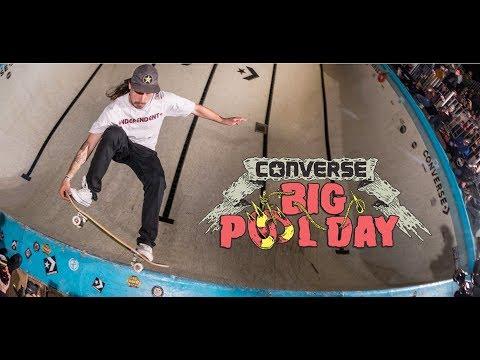 5259b45b16bdf0 Converse Cons Brazil Big Pool Day 2017 - YouTube