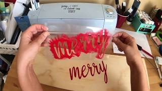 How to Make a Reuseable Stencil with Your Cricut