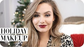 Holiday Makeup! Christmas Party GRWM!