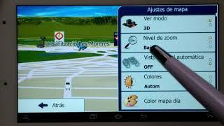 Tutorial IGO Primo Android +SKIN Platinum 1-Modo Camión