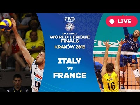 Italy v France - Group 1: 2016 FIVB Volleyball World League