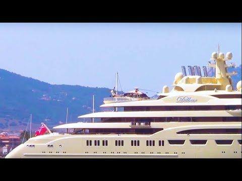 Super Yacht DILBAR: Kapal Pesiar 600 Juta Dolar