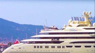 Super yacht DILBAR: the 600 million dollar mega yacht