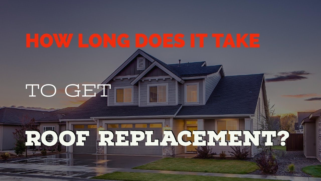 How Long Does It Take to Replace a Roof on a House in ...