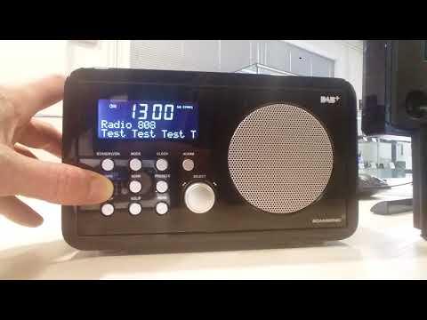 Radio 808 - DAB prijem u Zagrebu - Scansonic 3