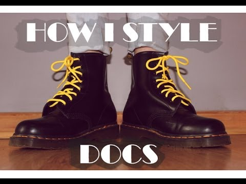 How I Style : Dr Martens 1460