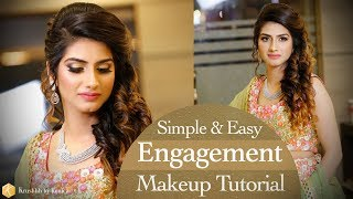 Engagement Makeup Tutorial | Simple and Easy Real Bridal Makeup Tutorial Videos | Krushhh by Konica