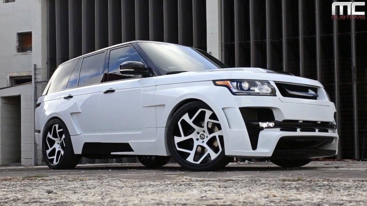 Mc Customs Hamman Widebody Range Rover 183 Vellano Wheels