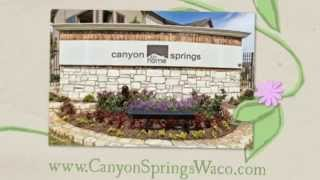 Canyon Springs Luxury 1, 2 & 3 Bedroom #Apartments in  #Waco