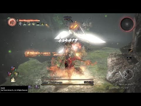 Nioh [1.21] - The New Ultimate Endgame Kusarigama Build   435,000 Damage  - Way of the Nioh