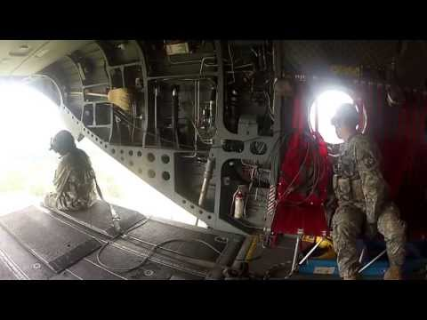 CH-47 Chinook Flight, EOU ROTC
