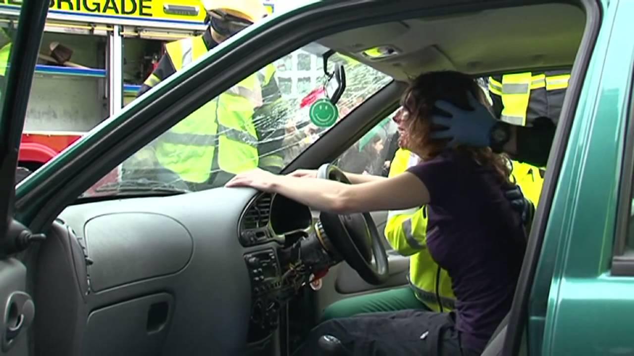 Car Crash Simulation Video At Trinity College Dublin