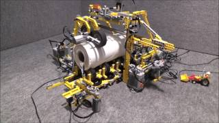 LEGO : Cutting Machine with complication / Fail   by üfchen