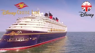 DISNEY CRUISE LINE | Check out this Drone Video of the Disney Cruise Ship! | Official Disney UK