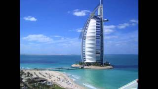 Font Burj Al Arab inspired
