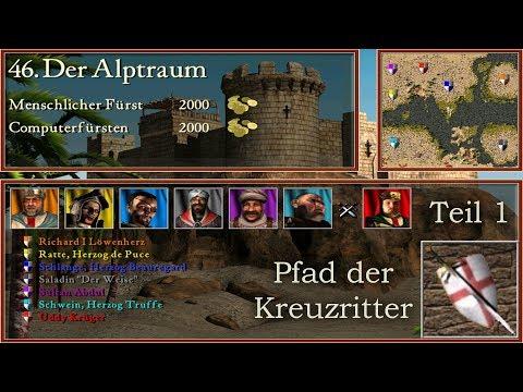 M46: Der Alptraum - Teil 1 - Kreuzritter - Stronghold Crusader | Let's Play (German