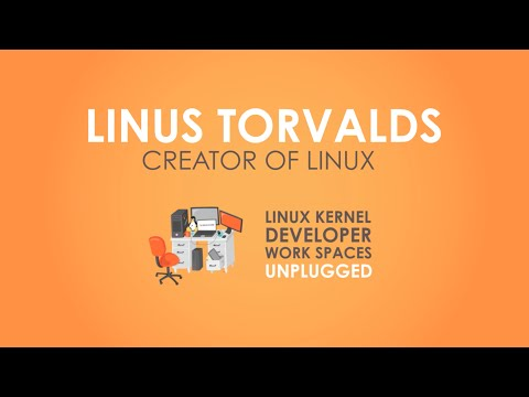 Linus Torvalds Guided Tour of His Home Office