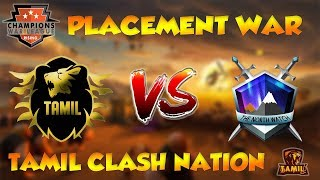 TAMIL vs THE NORTH WATCH | Recap | CWL Rising | Placement match | Clash of Clans