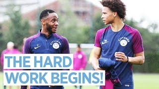 HIGH INTENSITY INTERVAL TRAINING! | Man City Pre Season Training Day 2