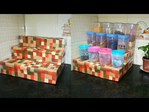 Diy Spice Organizer for Kitchen – Kitchen Organization Idea | Anupama Jha