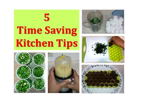 How to save time in Kitchen ? - 5 Kitchen Tips to Save your Food and Time (Food storage tips)