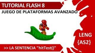 Tuto Flash AS2, Herramientas 03, Juego de Plataformas Avanzado