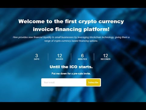 Hive Project - Currency invoice financing platform ICO review