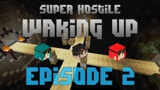 Minecraft Super Hostile - Waking Up - Episode 2 - So Much Progress!
